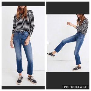 Madewell High Rise Cali Denim Jeans Size 27 NWT
